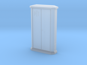 TJ-H01147 - Armoire PTT grande in Smooth Fine Detail Plastic