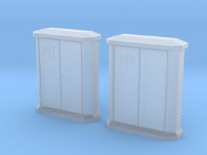 TJ-H01148x2 - Armoires PTT petites in Smooth Fine Detail Plastic