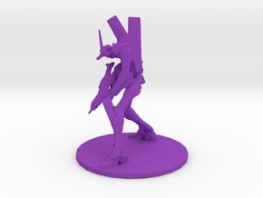 1/700 Evagelion 01 with Rifle in Purple Processed Versatile Plastic