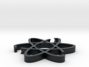ATOM Fidget Spinner body in Black Hi-Def Acrylate
