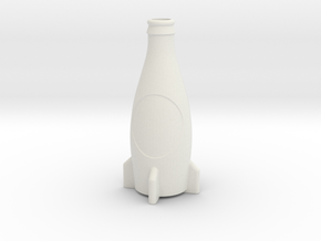 Fallout 4 Inspired Nuka-Cola Accurate Model in White Natural Versatile Plastic