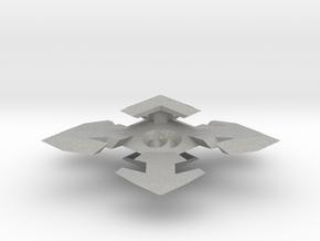 Snowflake D6 in Aluminum