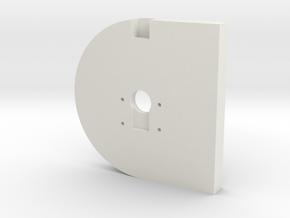 LED-16Ring-Cam Holder V1.5 in White Natural Versatile Plastic