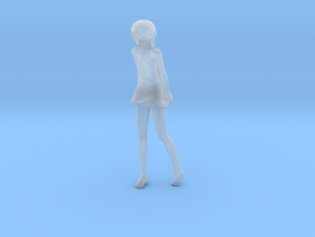1/12 Girl at Beach in Smooth Fine Detail Plastic