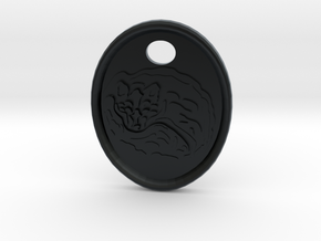 Fox Medallion in Black Hi-Def Acrylate