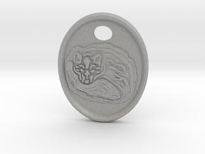 Fox Medallion in Aluminum