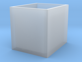 High Density FCS2 Coverslip Storage Box in Smooth Fine Detail Plastic