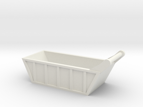 1:64 scale Bedding Box in White Natural Versatile Plastic
