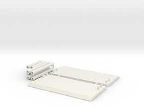 1:64 scale Trench Box  in White Strong & Flexible