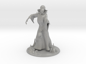 Mind Flayer Miniature in Aluminum: 1:55
