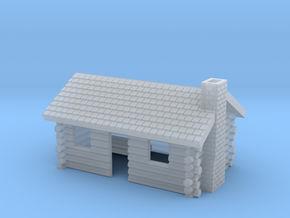 Log Cabin 1 - Zscale in Smoothest Fine Detail Plastic