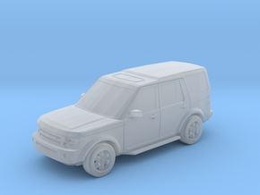 Landrover Discovery 3  in Smooth Fine Detail Plastic: 1:148