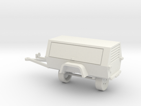 Generator/Compressor 1-87 HO Scale in White Natural Versatile Plastic
