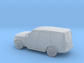 Landrover Discovery 3  in Smooth Fine Detail Plastic: 1:120 - TT