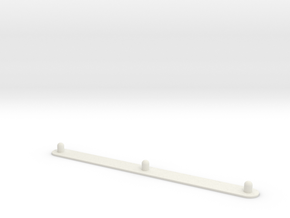 "Animation Peg Bar (8.5"" x 11"" Standard Hole Punch) in White Strong & Flexible"
