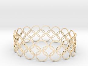 Bracelet CVB XL in 14k Gold Plated Brass