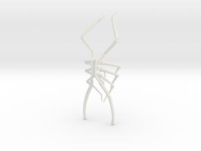 Legs Sprue 5.5 in White Natural Versatile Plastic