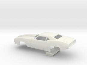 1/25 Pro Mod 69 Camaro in White Natural Versatile Plastic