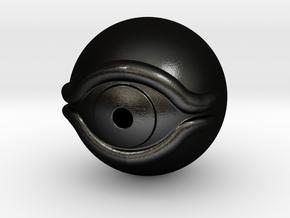 Millennium Eye - Yu-gi-oh! in Matte Black Steel