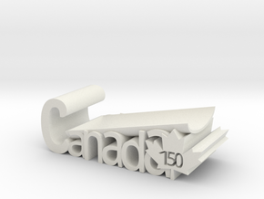 Canada 150 Spoon Rest Version 2 in White Natural Versatile Plastic