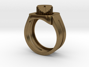 303 Acid Ring in Natural Bronze: 7 / 54