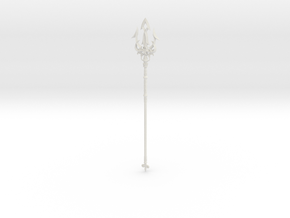 """BotW"" Lightscale/Ceremonial Trident in White Natural Versatile Plastic: 1:12"