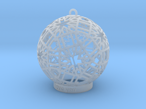 Modern Ornament in Smooth Fine Detail Plastic