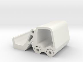 Forklift Universal Phone Holder for Kids in White Natural Versatile Plastic