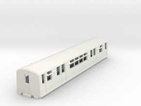 O-87-district-o-p-q38-trailer-coach in White Natural Versatile Plastic