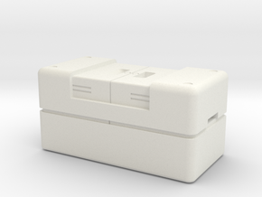 Crate, Miscellaneous, Base Range = 1/30 in White Natural Versatile Plastic: Small