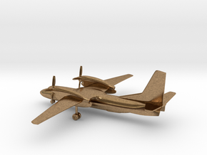 Antonov An-32 Cline in Natural Brass: 1:285 - 6mm