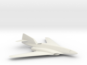 1:48 Me262 Hg III in White Natural Versatile Plastic