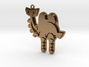 Zelda Divine Beasts Vah Naboris pendant botw in Natural Brass