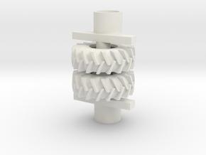 18.4-26 Set in White Natural Versatile Plastic