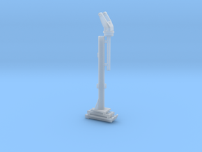 1/16 M2 Browning (50 cal') Pedestal in Smooth Fine Detail Plastic