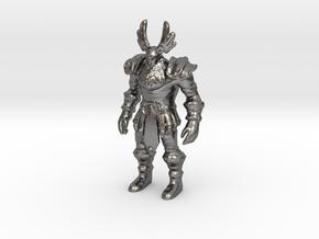 Odyn miniature in Polished Nickel Steel