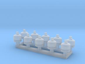 TJ-H02000x10 - Bouteilles de gaz 5-6kg in Smooth Fine Detail Plastic