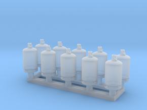 TJ-Z2001x10 - Bouteilles de gaz 13kg in Smoothest Fine Detail Plastic