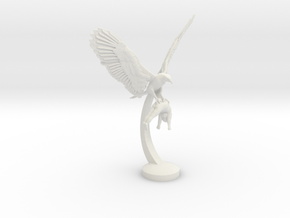 EAGLE PREY 15cm in White Natural Versatile Plastic