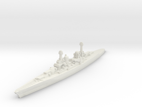 Lexington class battlecruiser (1920s) 1/1800 in White Natural Versatile Plastic