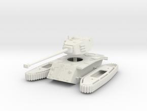 1/72 ARL 44 heavy tank in White Strong & Flexible