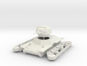 1/56 Type 2 Ke-To light tank in White Natural Versatile Plastic