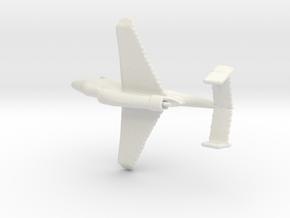 1:285 Heinkel-162 in White Natural Versatile Plastic