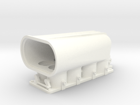 Crower Injector 1/12 in White Processed Versatile Plastic