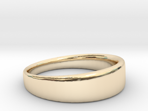 Ring Clean in 14K Yellow Gold: 8.75 / 58.375