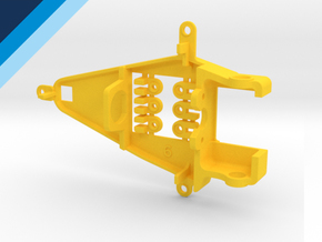 Small Can 0.6mm Offset IL - NSR compatible pod in Yellow Processed Versatile Plastic