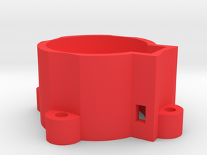 Robot Base for Rio Rand Metal Gear Servo in Red Strong & Flexible Polished