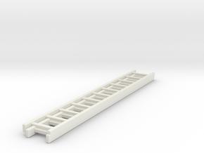 1/87 Ladder #2 in White Natural Versatile Plastic