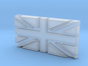 British flag in Smooth Fine Detail Plastic
