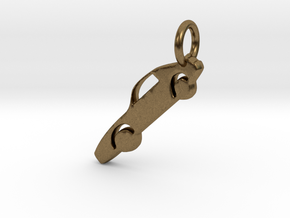 Car Charm in Natural Bronze
